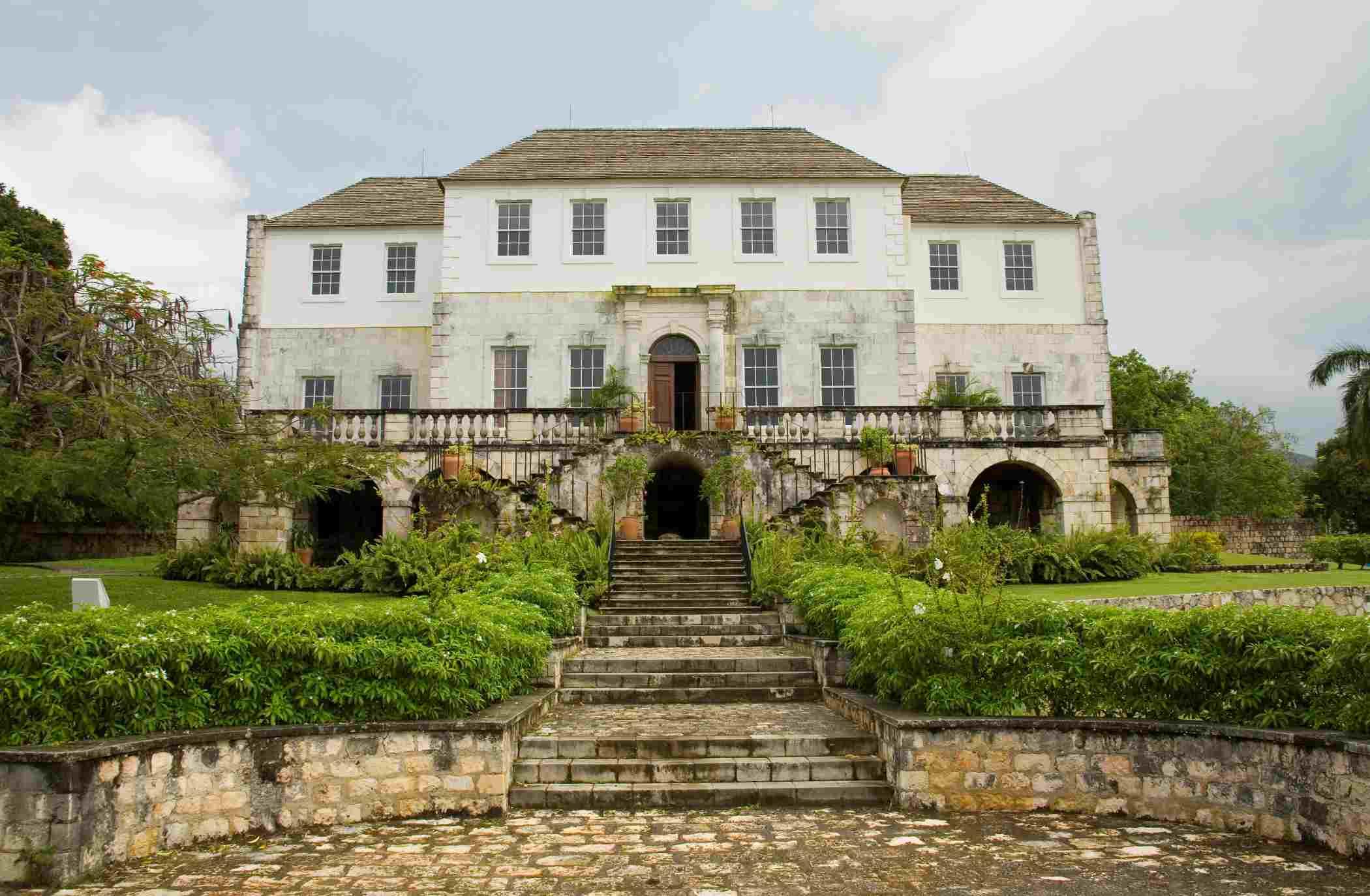 Rose Hall Plantation Estate House, Jamaica.