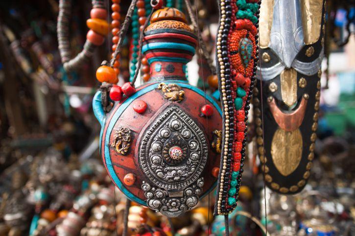 Artesanías tibetanas