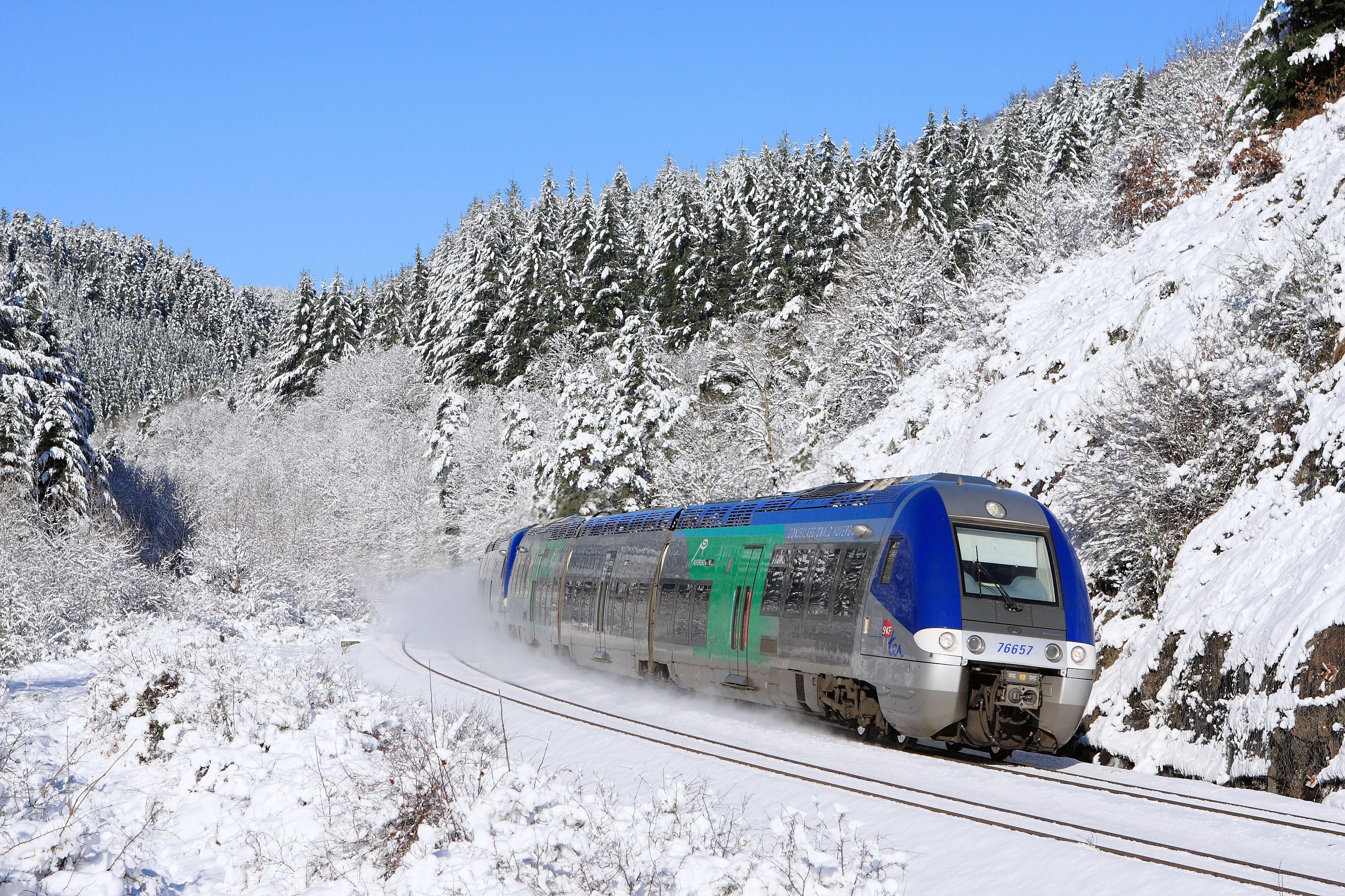 SNCF en los Alpes