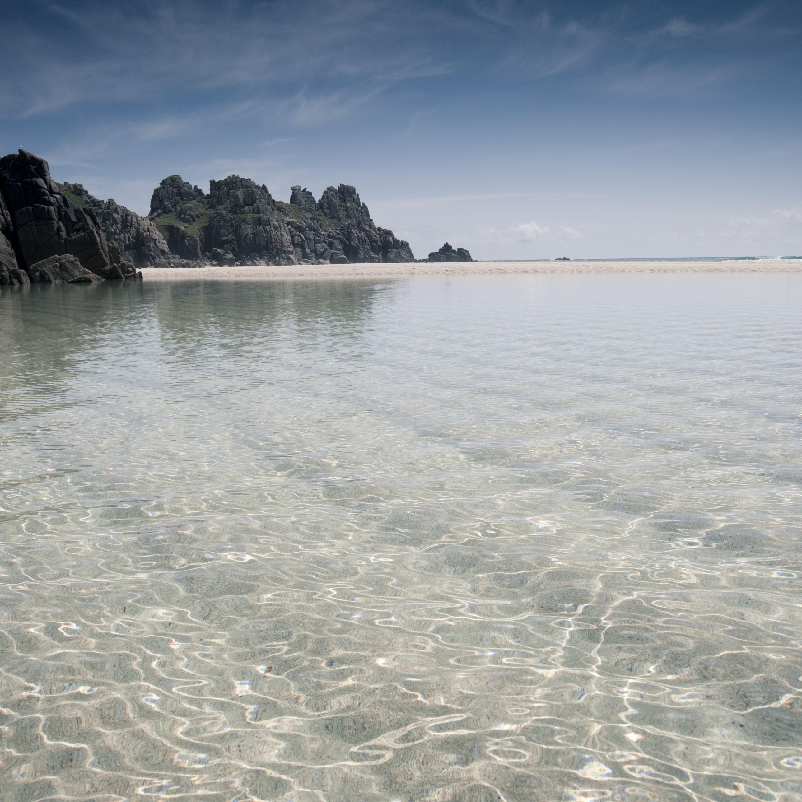 UK Nude Beach - Pednevounder in Cornwall