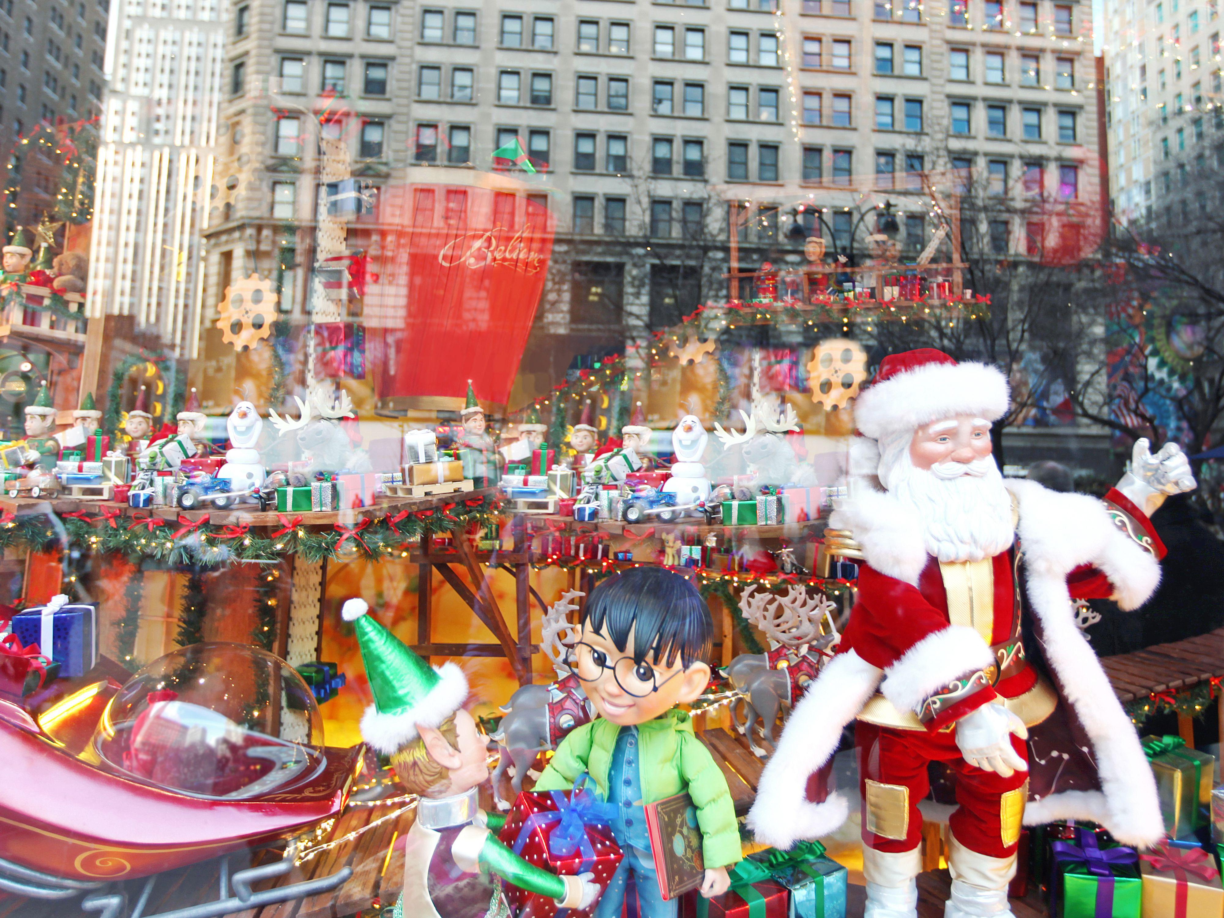 Visiting Santa at Macy's Santaland in New York City
