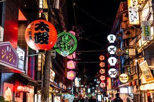 Osaka Nightlife Namba