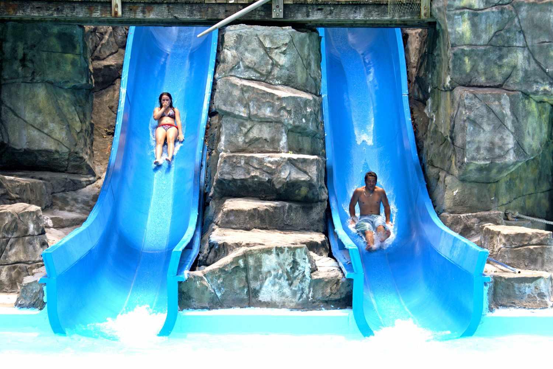 Six Flags White Water Lizard Tail