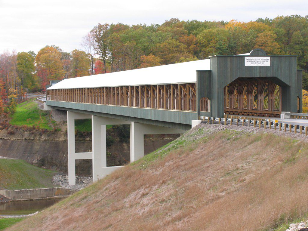 The Smolen-Gulf Covered Bridge