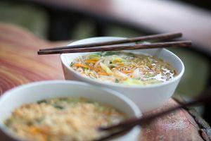 A bowl of spicy noodles, Tam Coc.