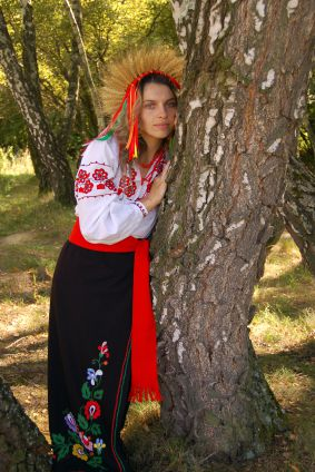 Ukraine Folk Costume