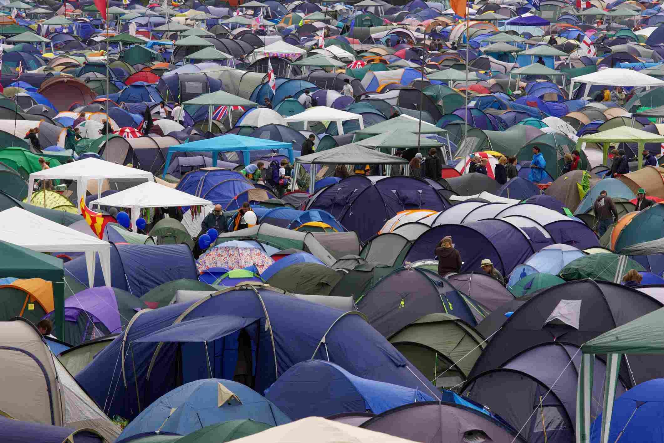 Camping de Glastonbury