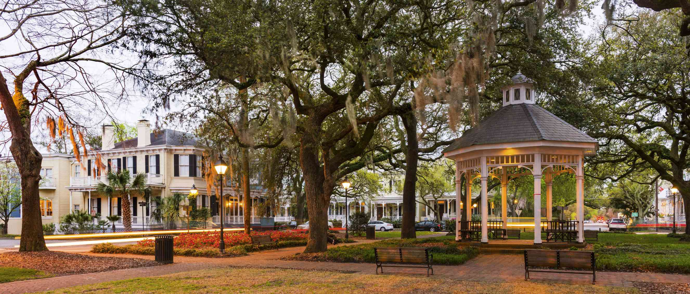 Distrito histórico en Savannah, GA