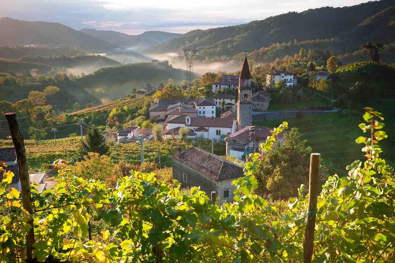 Rolle Village & Prosecco Vineyards, Veneto, Italy