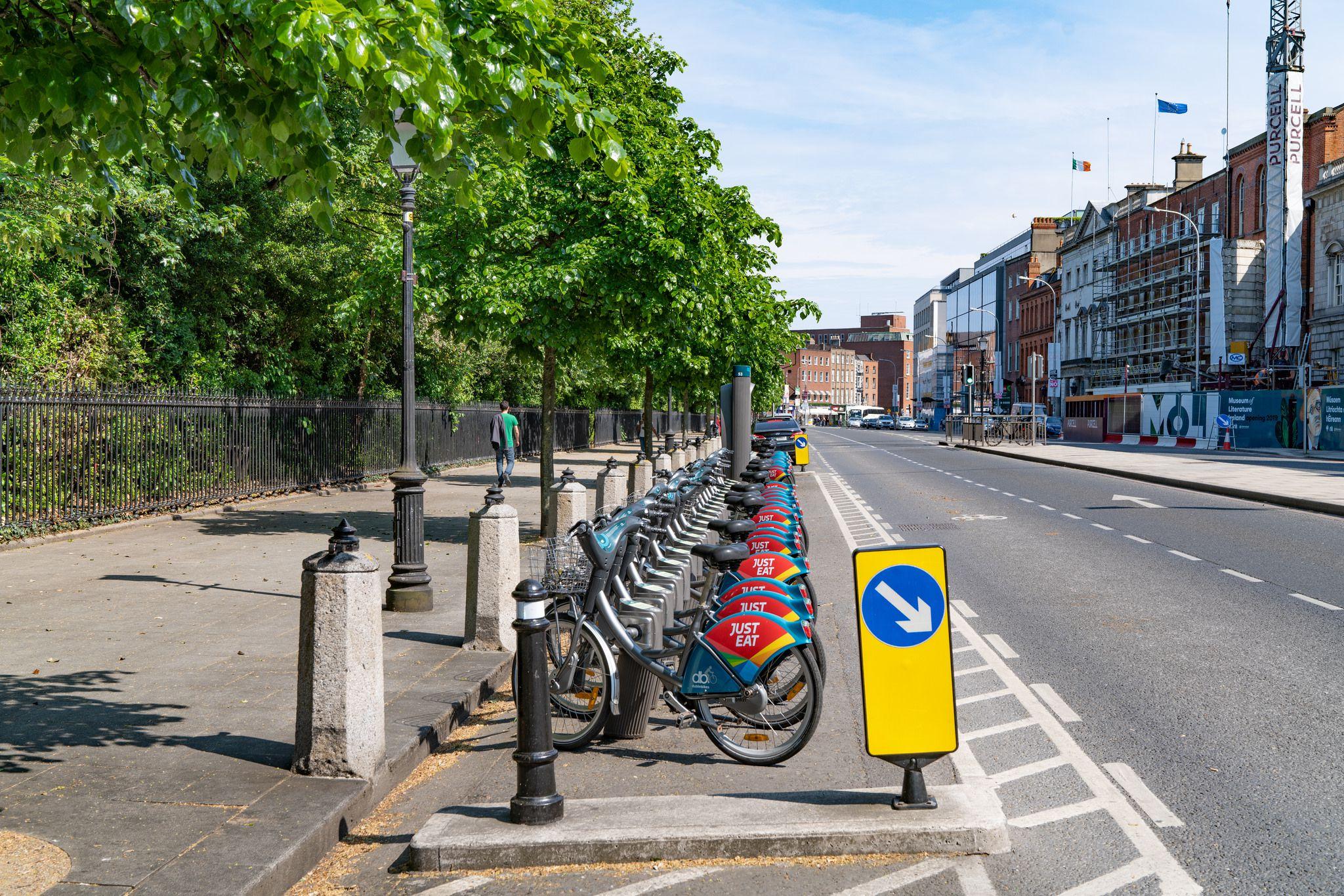 St Stephens Green neighborhood in Dublin