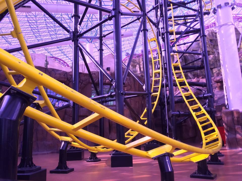 Canyon Blaster at The Adventuredome