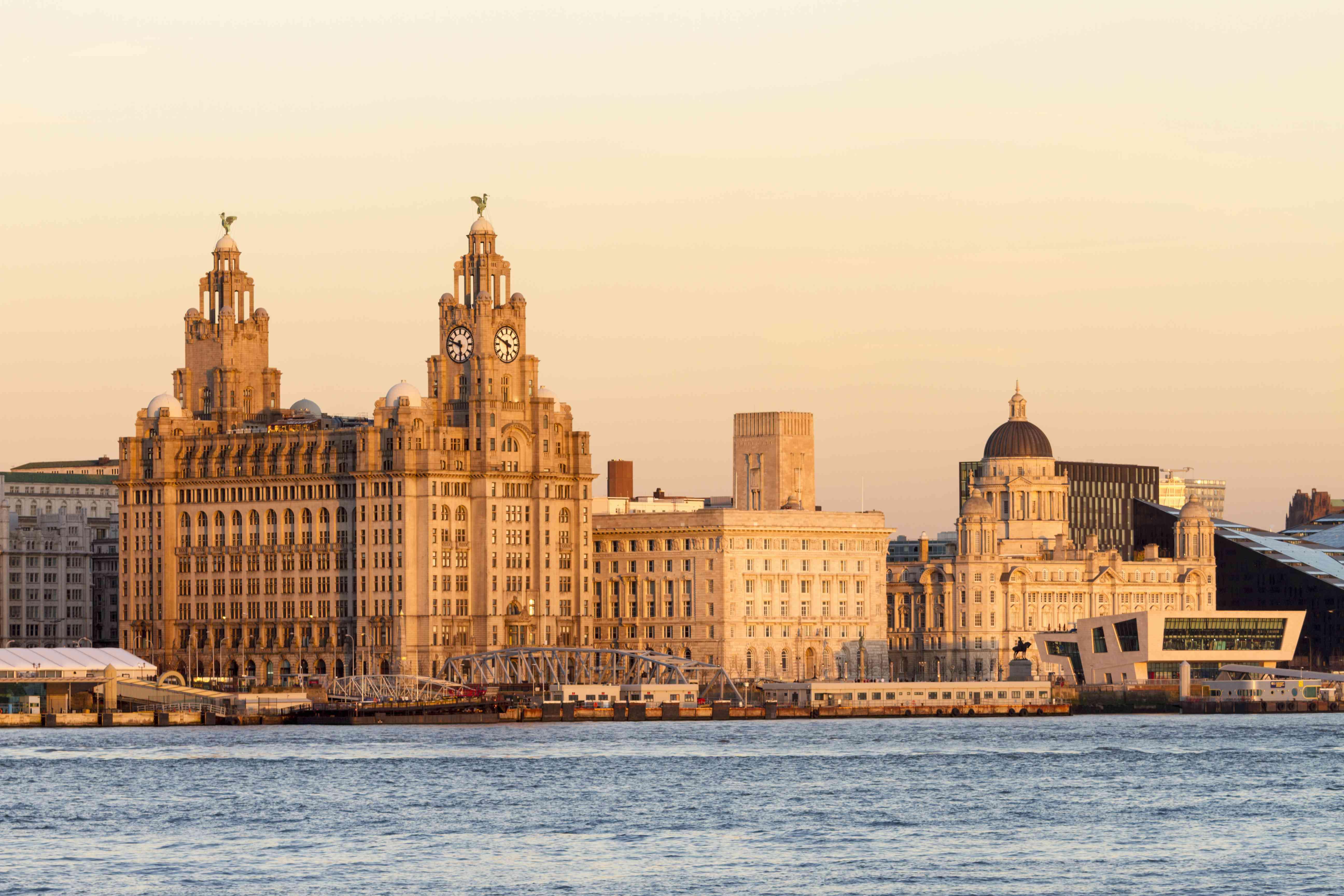 Liverpool UNESCO waterfront skyline