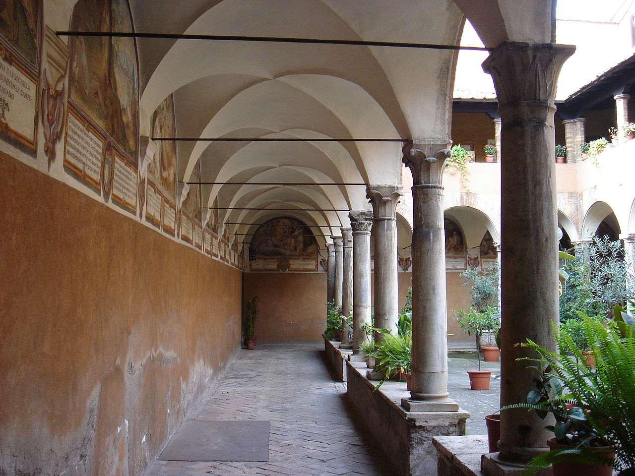 Roma, sant'Onofrio al Gianicolo