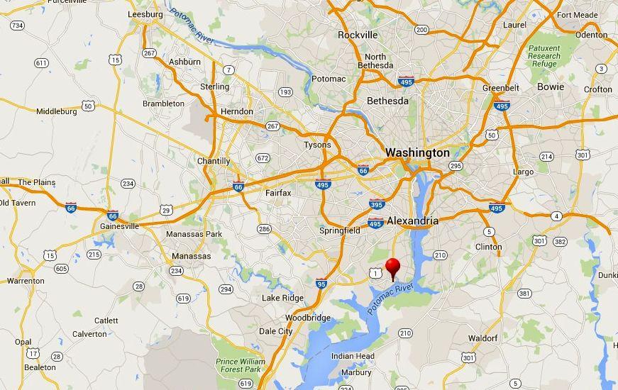 Se Et Kart Og Veibeskrivelse Til Mount Vernon Estate