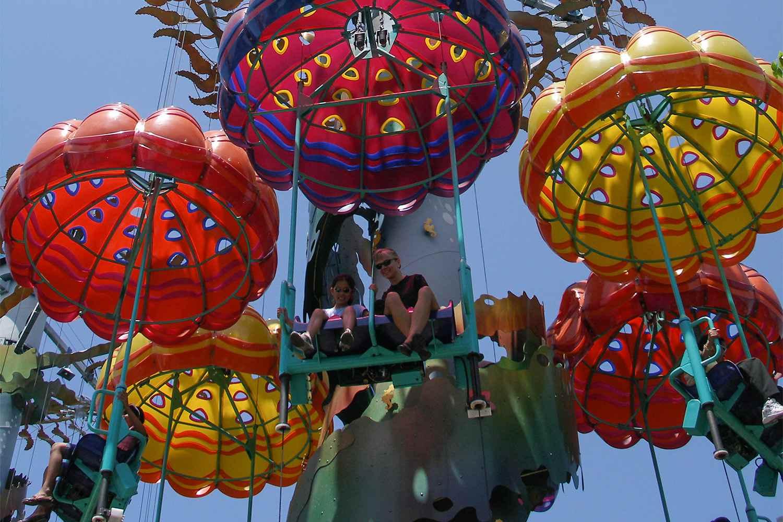 Jumpin' Jellyfish Ride at California Adventure