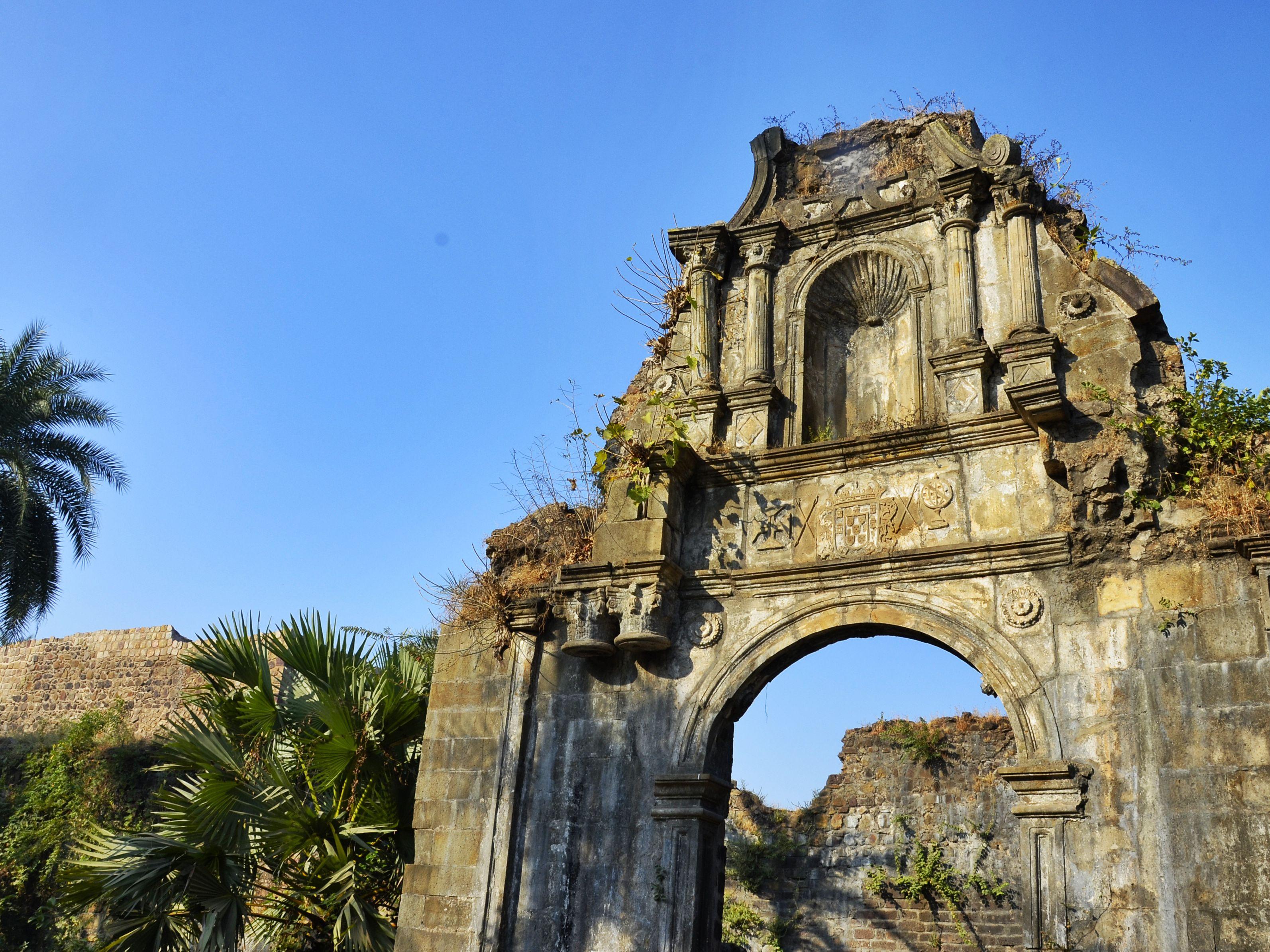 Historic Vasai Fort Near Mumbai: A Look Inside