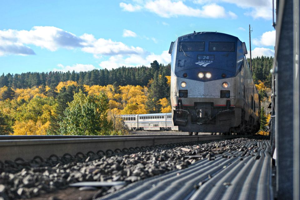 Empire Builder Amtrak Train
