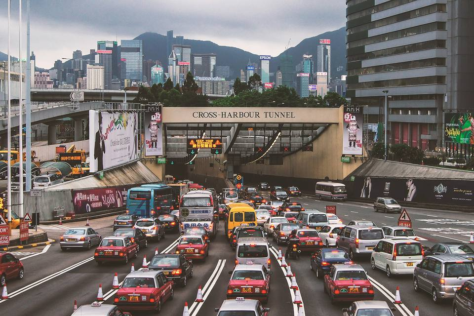Hong Kong Cross Harbour Tunnel