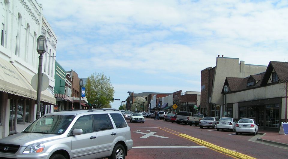 15th Street In Downtown Plano