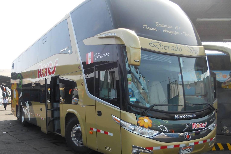 Flores bus Peru