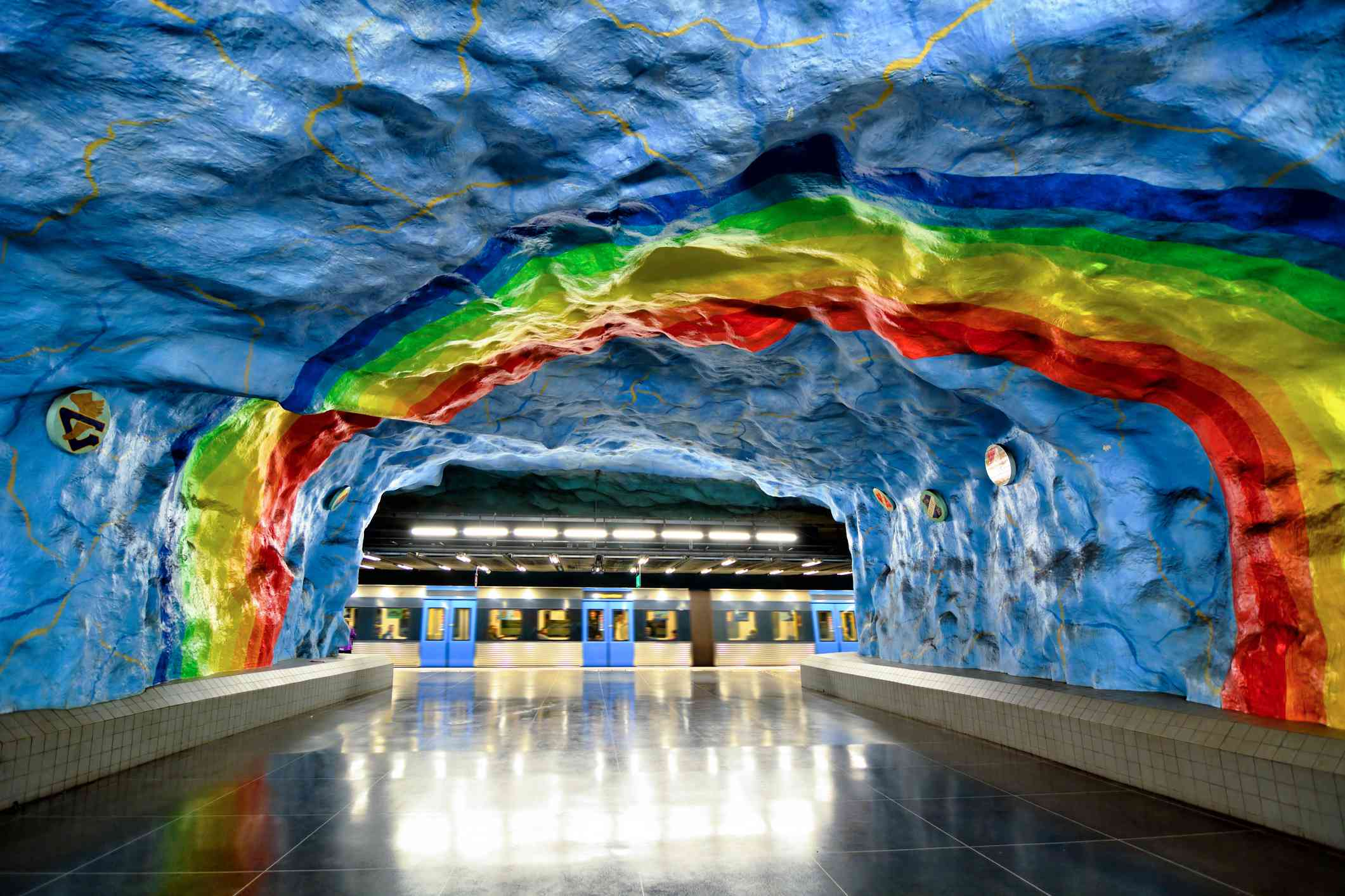 Stadion Metro Station, Stockholm