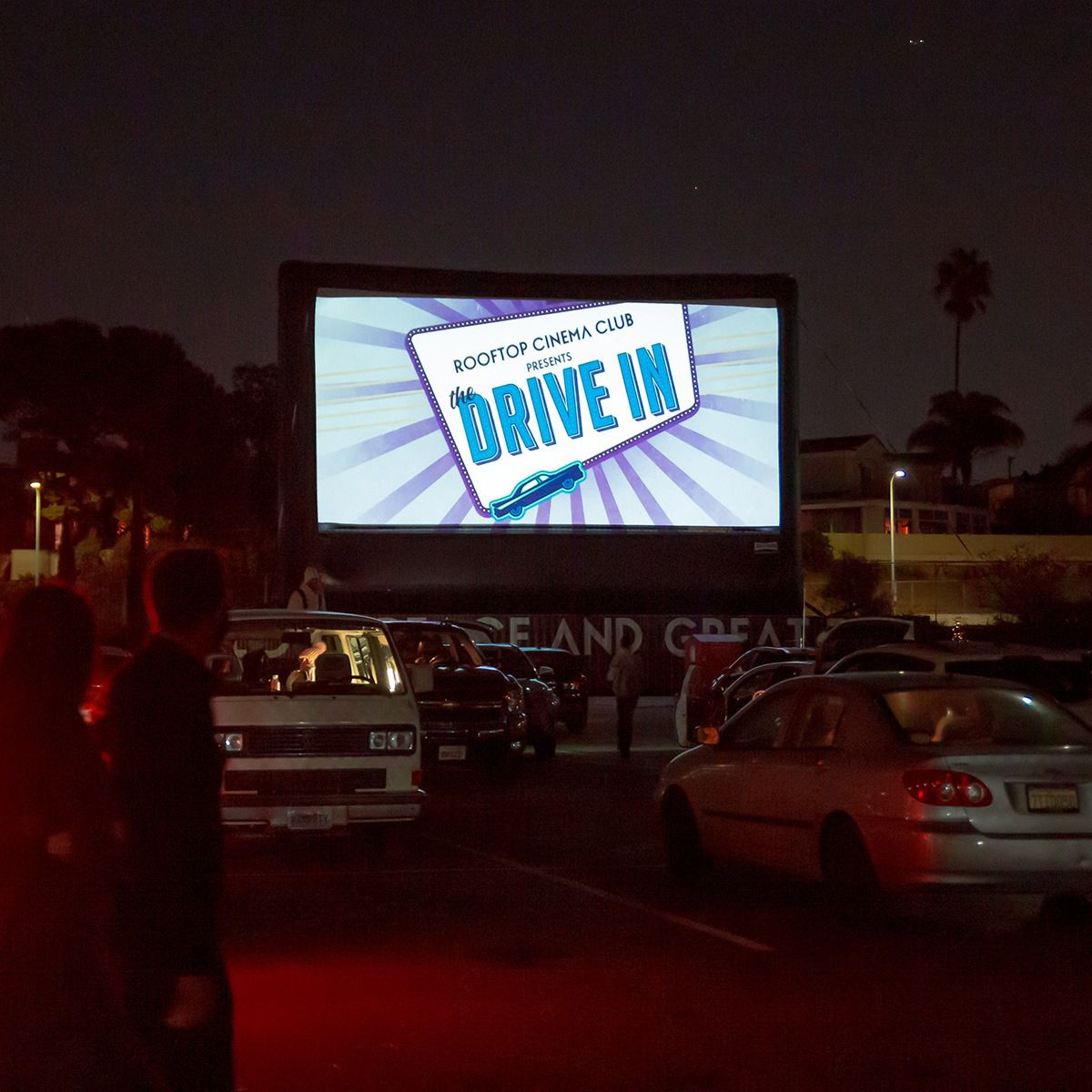 Rooftop Cinema Club Drive-In experience