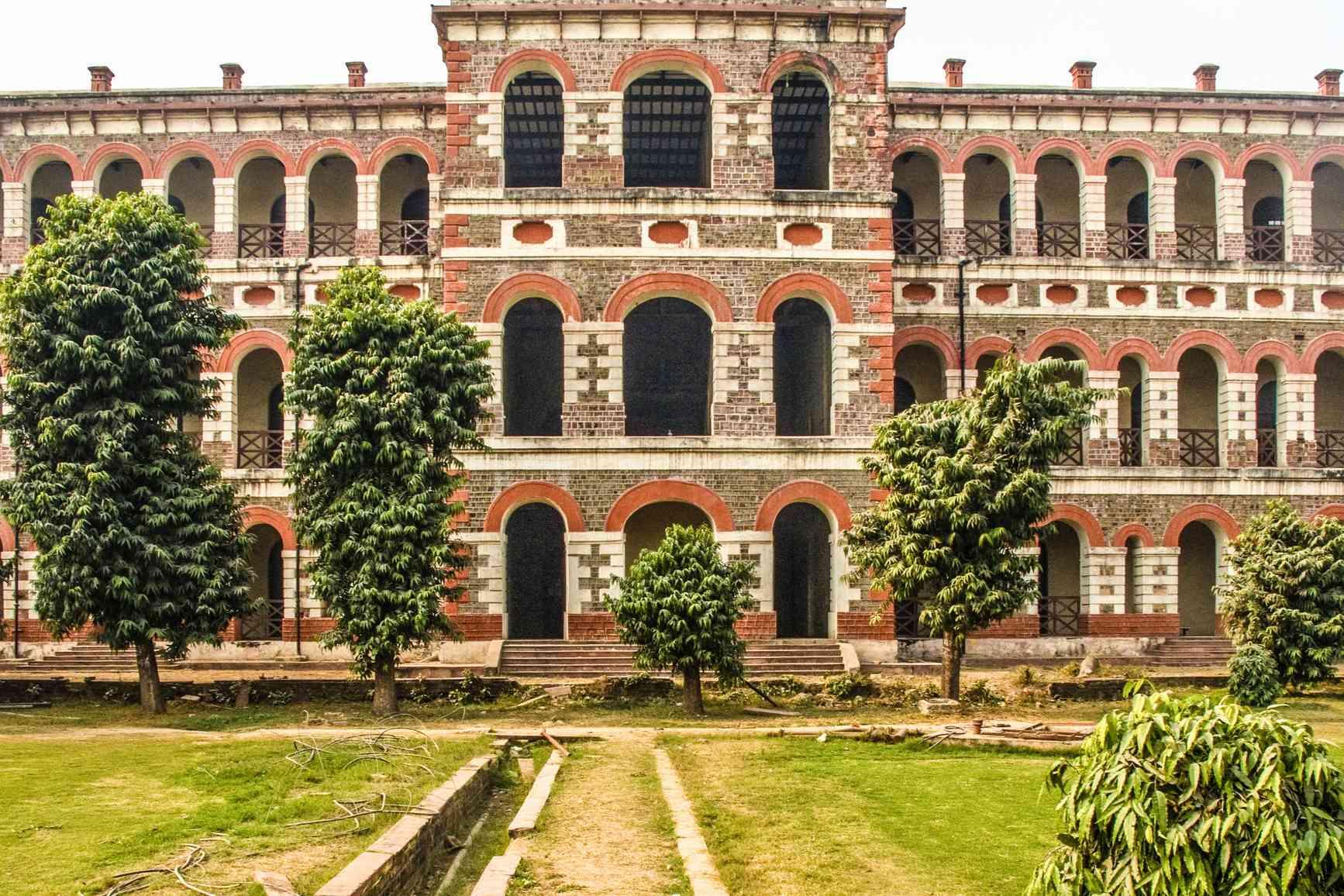 Red Fort or Lal Qila, British Barracks, Delhi
