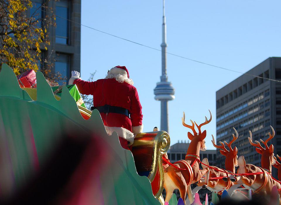 Visiting the Toronto Santa Claus Parade