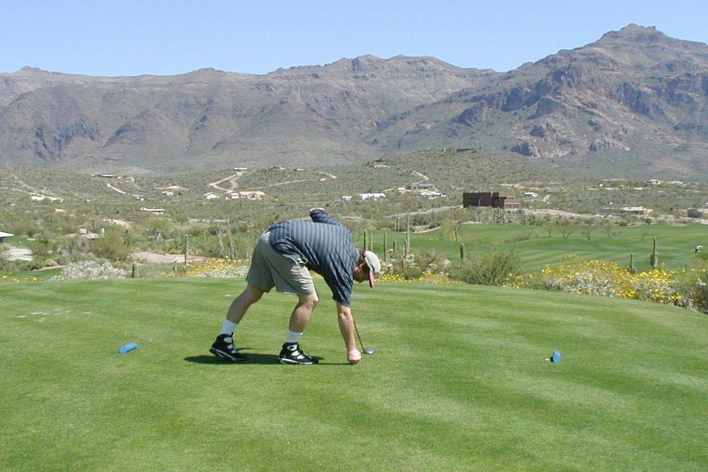Golfing in Phoenix