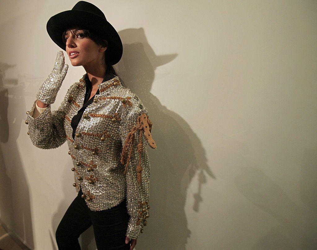 Costume display at Museum of Style in Newbridge, Ireland