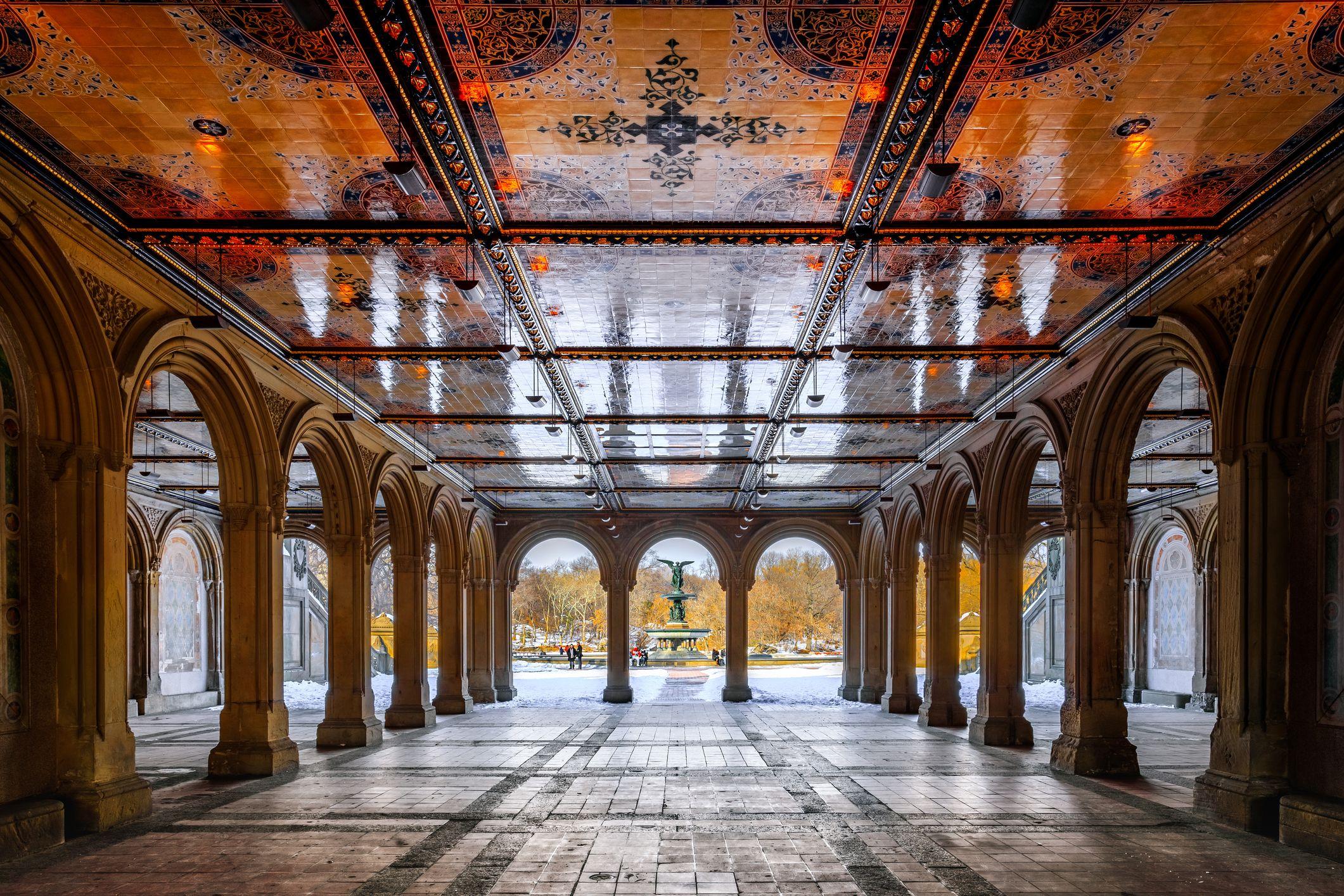 Bethesda Terrace, Central Park