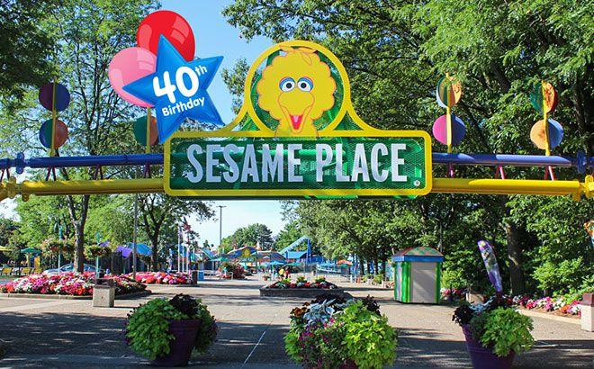 Sesame Place park in Pennsylvania