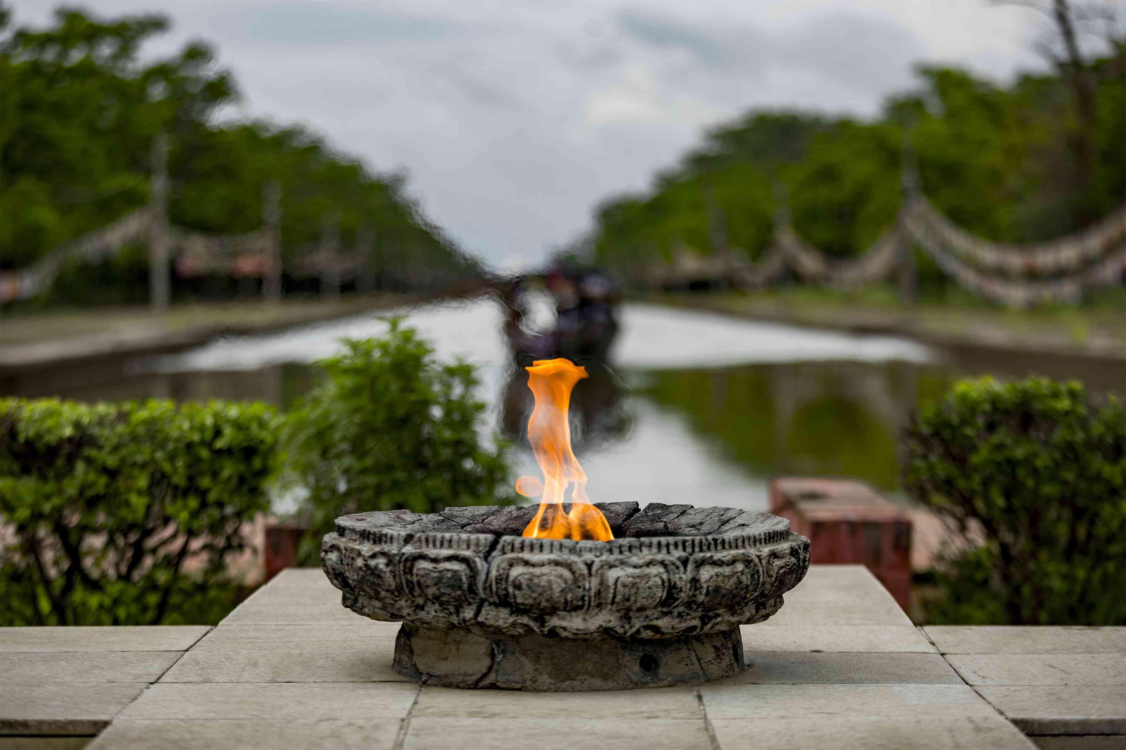Flame of Eternal Peace, Lumbini