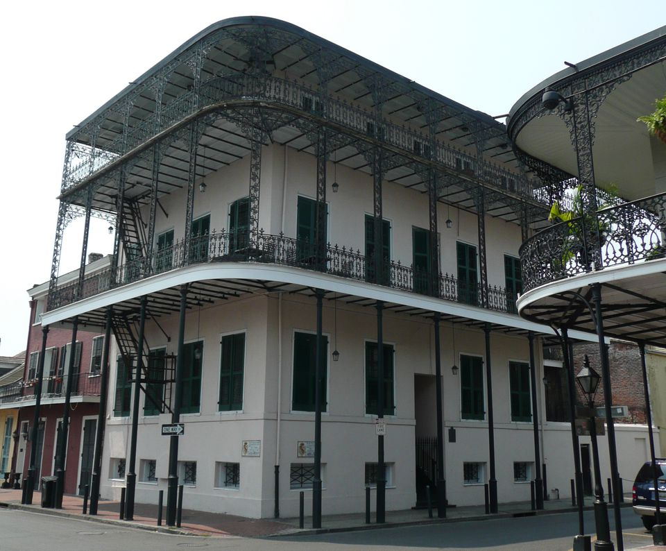 The Sultan's Palace or LaPrete House in New Orlean's French Quarter