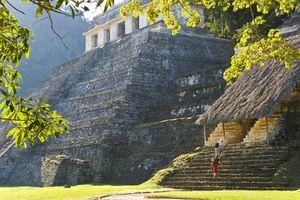 Templo las Inscripciones, Palenque, Mexico