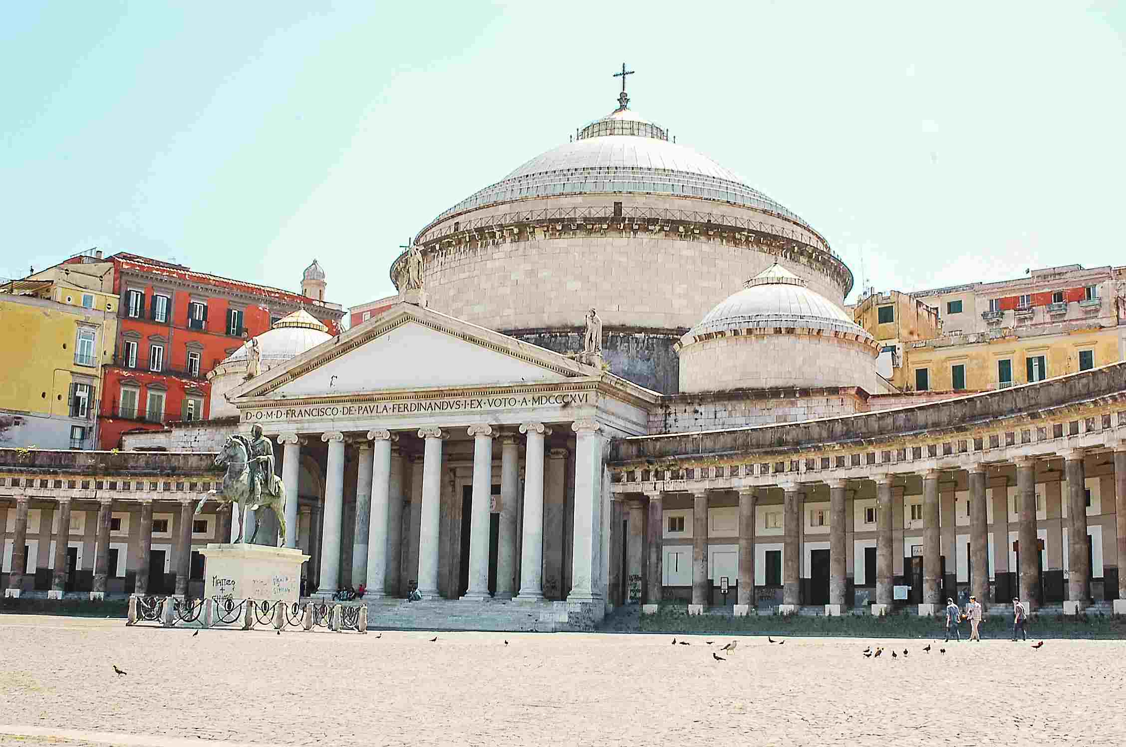 An ancient cathedral in Naples