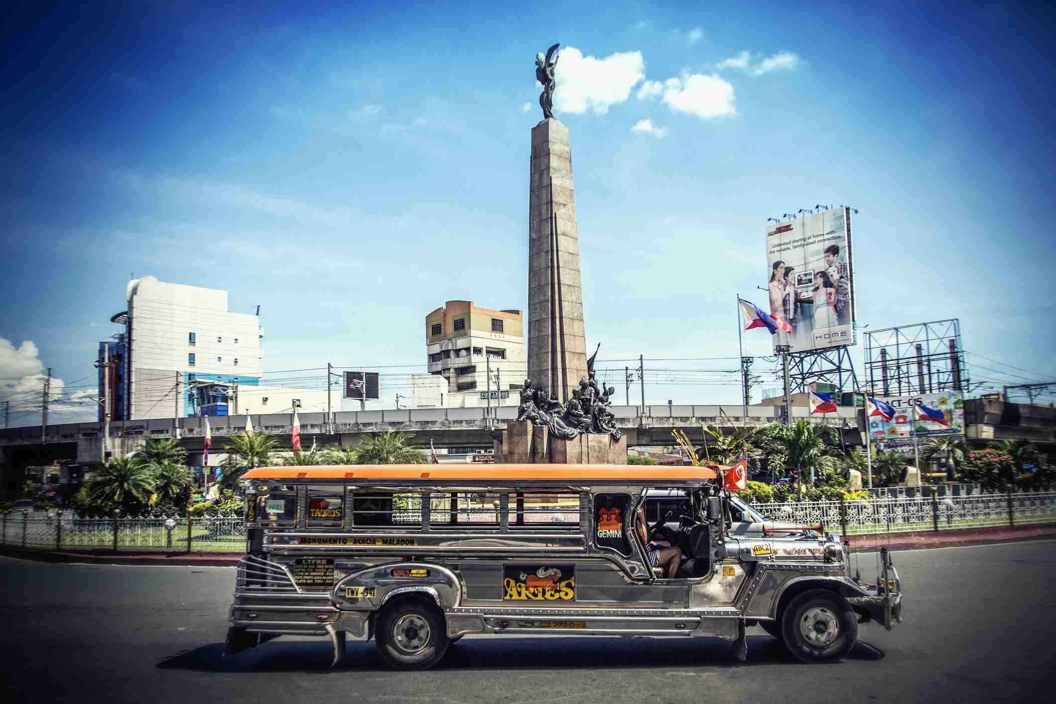 Jeepney, Caloocan City, Manila, Philippines