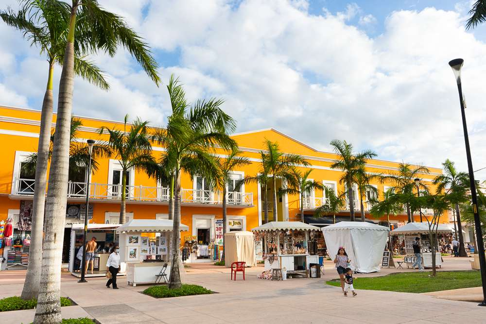 San Miguel Town in Cozumel, Mexico
