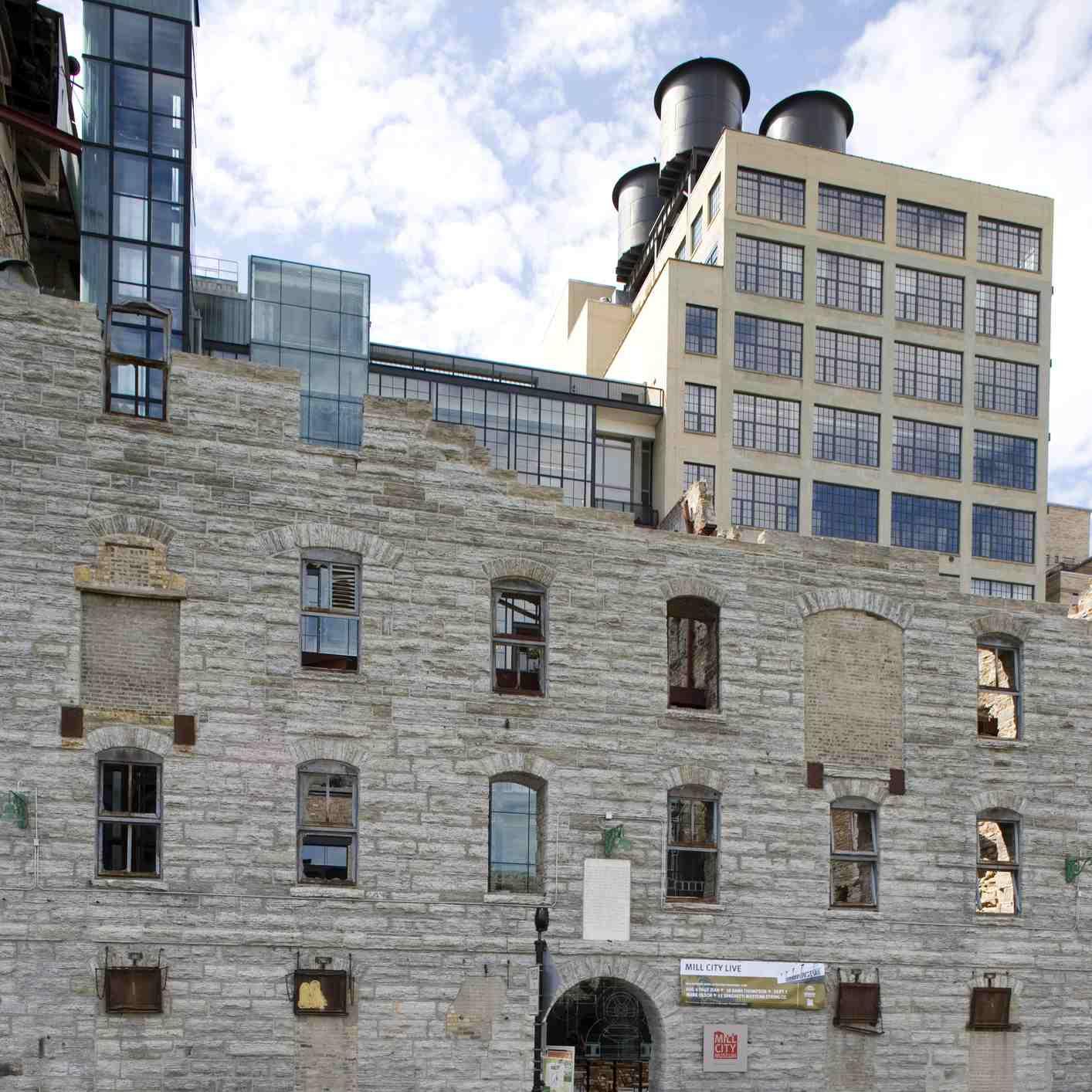 Mill City Museum in Minneapolis.