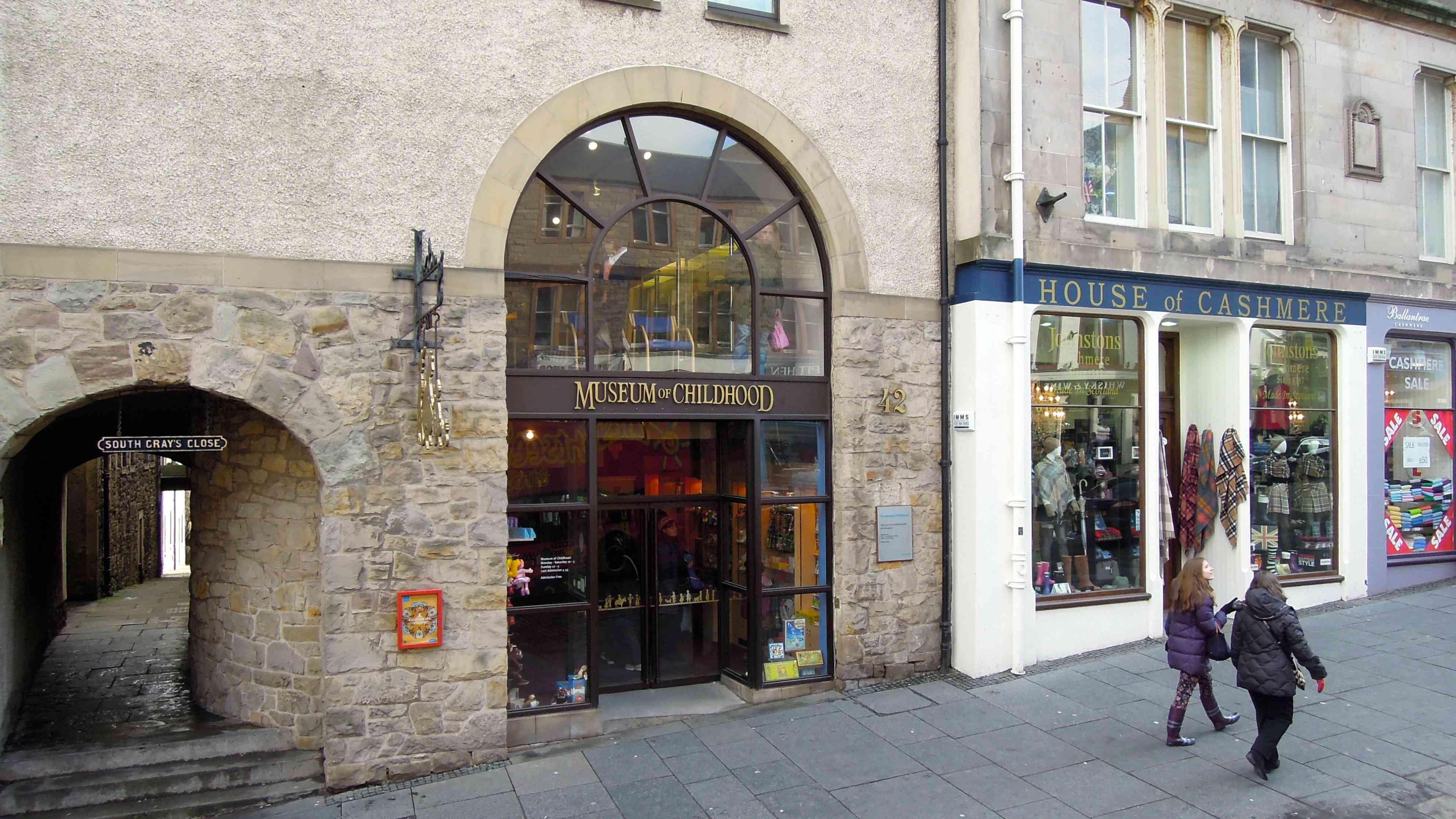 Museum of Childhood, High St, Royal Mile, Edinburgh