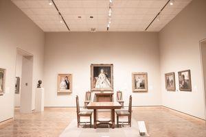 Inside the art museum