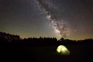Stargazing at Cherry Springs State Park, PA