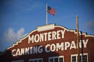 USA, California, Central Coast, Monterey, Cannery Row area, morning