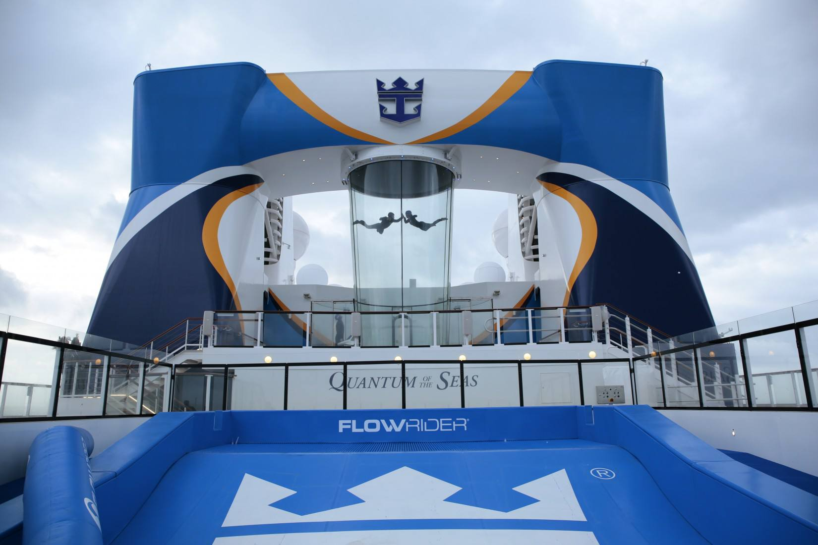 RipCord and FlowRider on the Quantum of the Seas