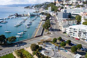 Aerials Of Wellington As NZ Coronavirus Lockdown Restrictions Move To Level 2