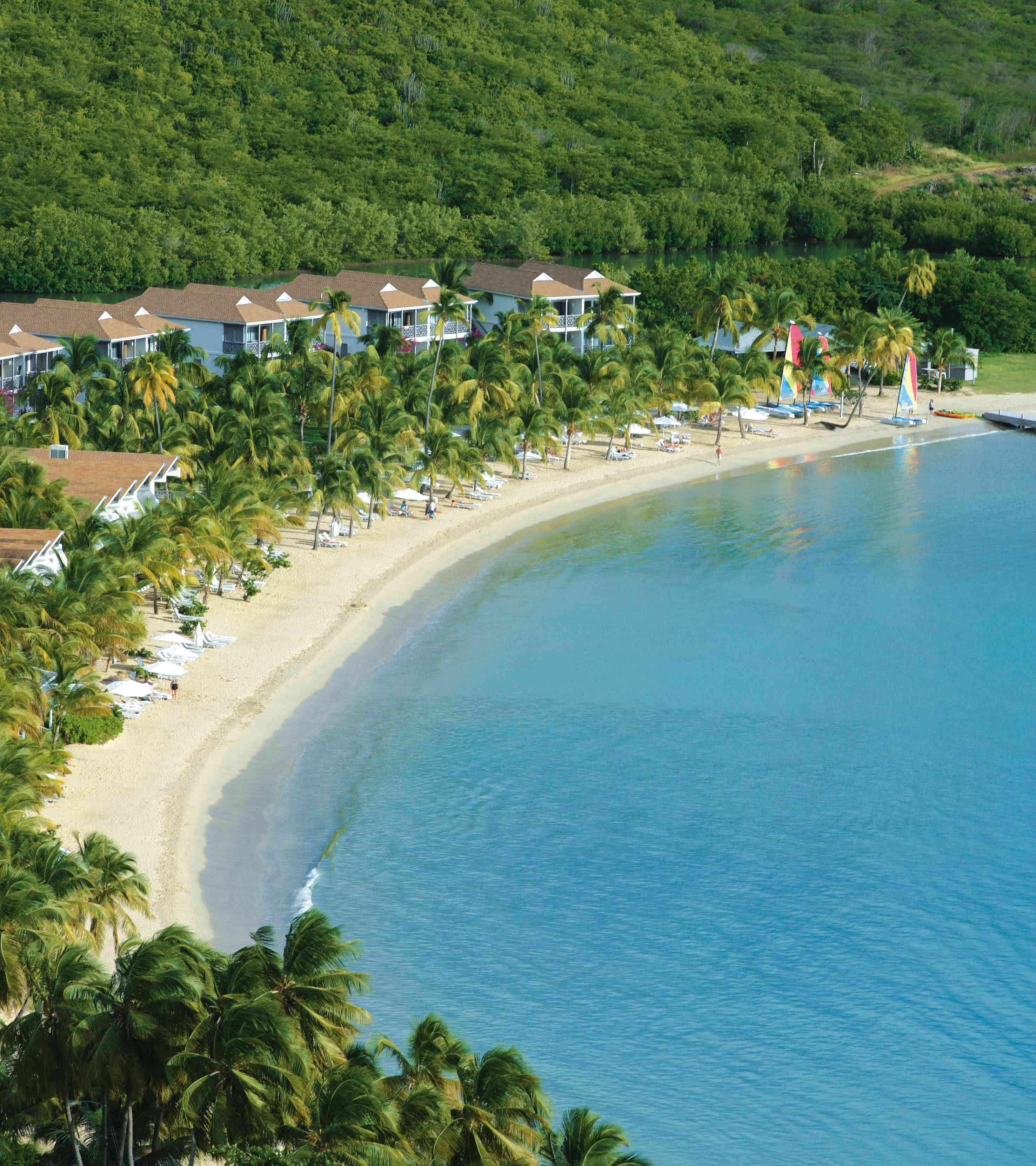 A view of Carlisle Bay, in Antigua