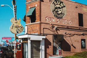 exterior of Sun Studio