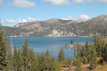 Marlette Lake, in the backcountry of Lake Tahoe Nevada State Park