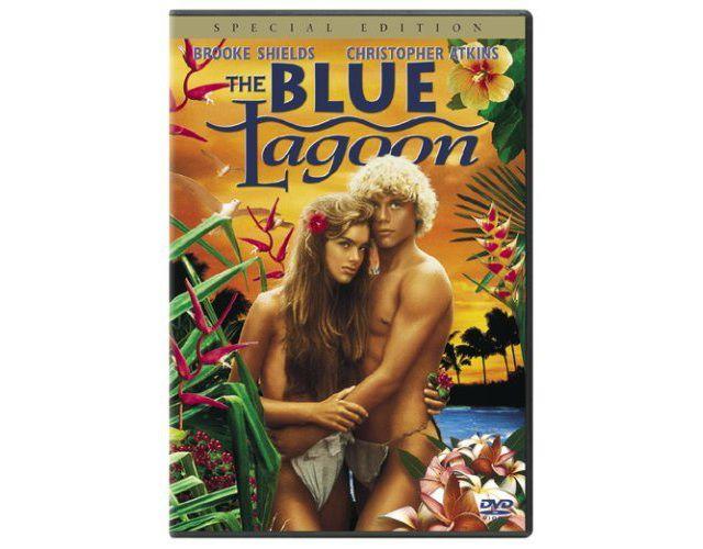 The Blue Lagoon dvd cover