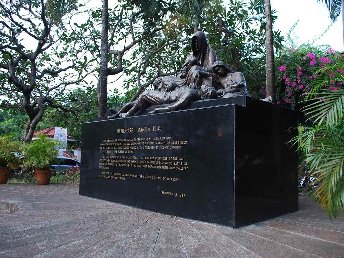 Memorare Manila monument in Intramuros